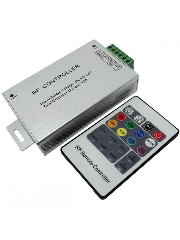 LED RGB RF valdiklis 3x4A