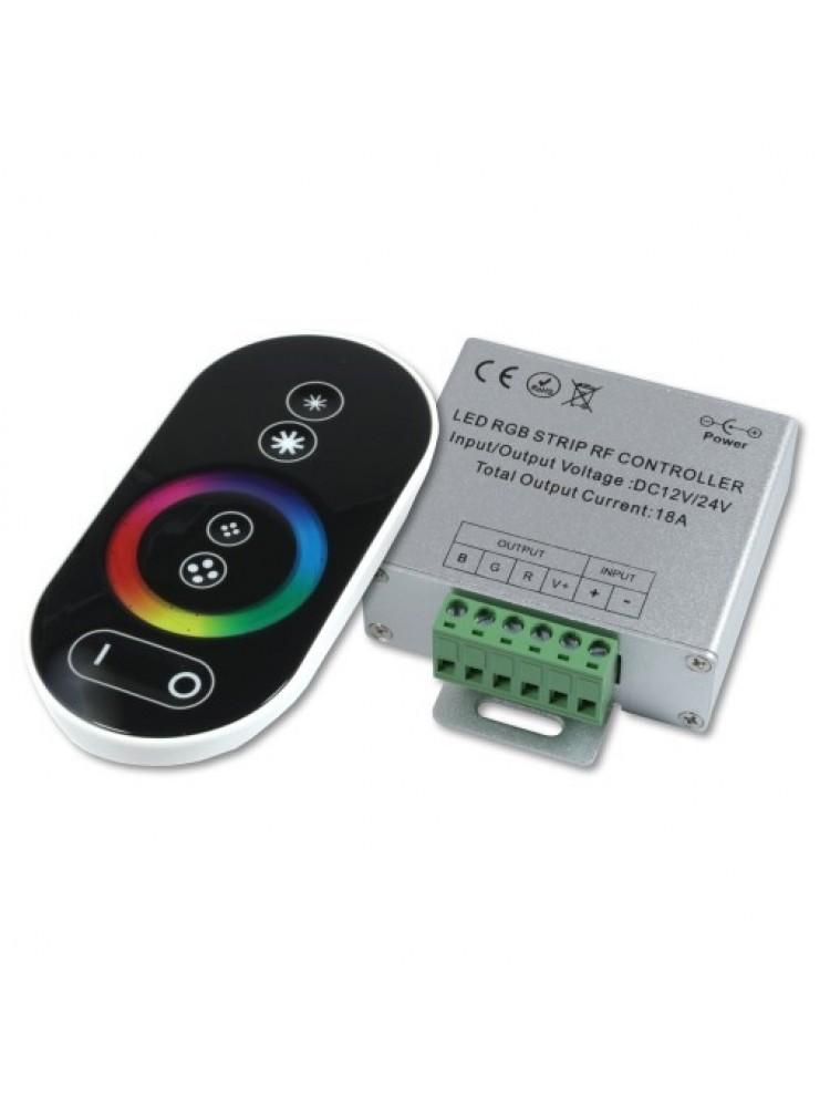 LED RGB RF valdiklis 18A
