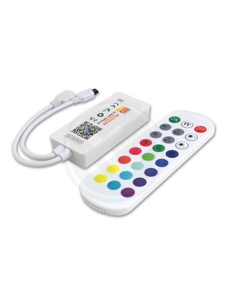 LED RGB  valdiklis su pulteliu ir  WIFI  valdymu