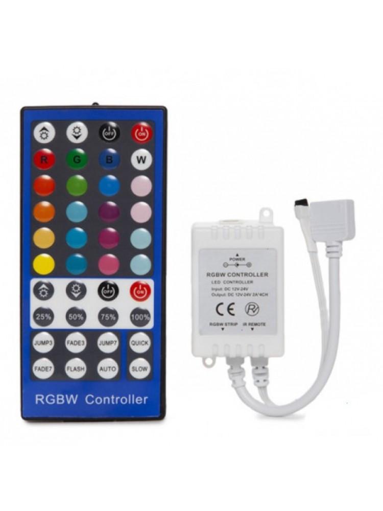 LED RGBW IR  valdiklis 4x2A