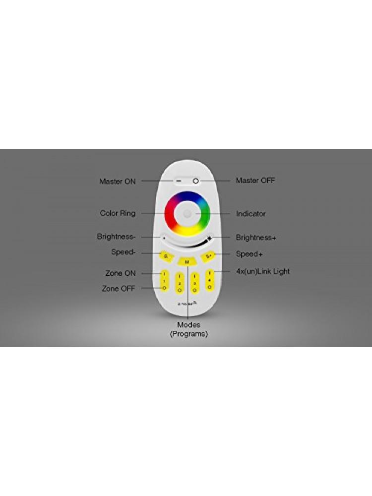 RGBW juostos valdymo sistemos siūstuvas RF2.4G