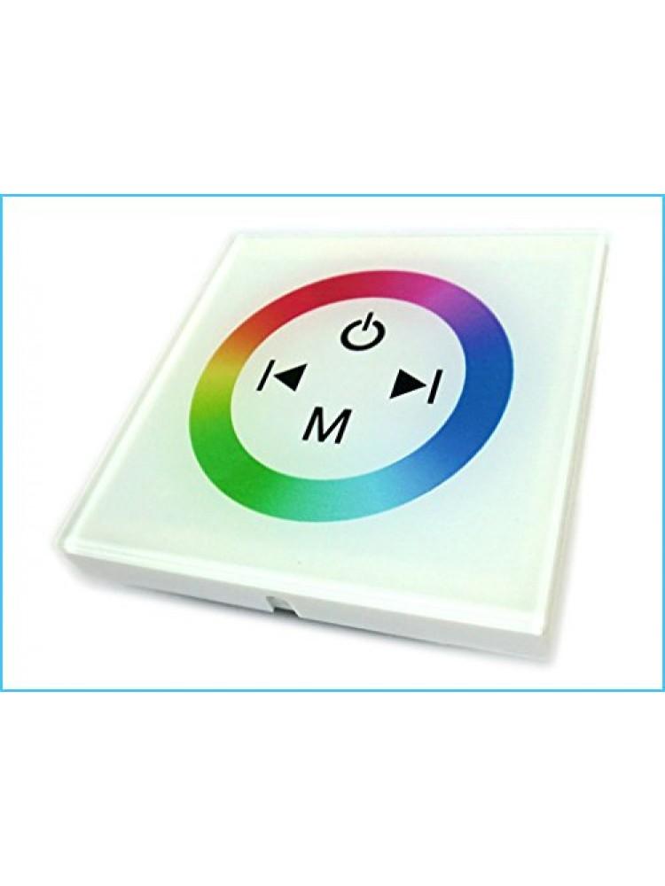 LED sieninis RGB  valdiklis 12A baltas