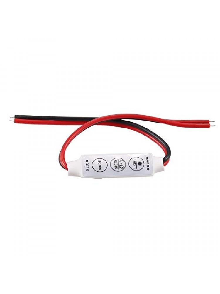 LED vienos spalvos  MINI valdiklis 6A