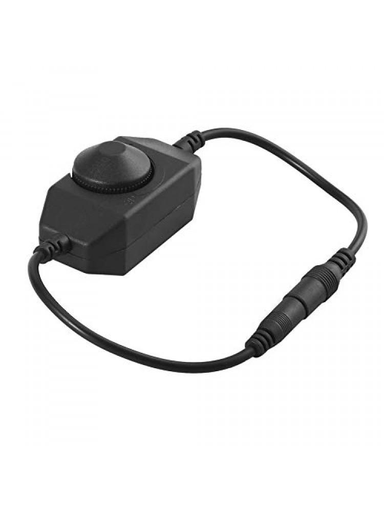 LED vienos spalvos  MINI valdiklis 4A juodas