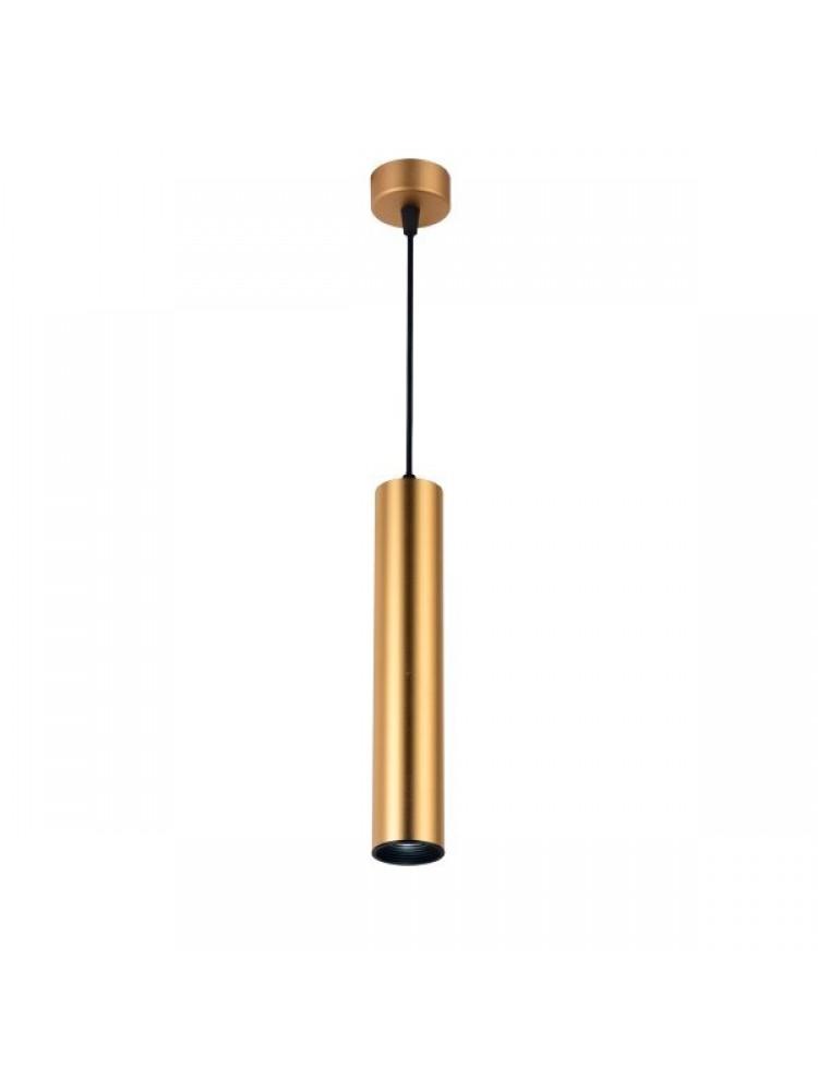 Cilindro formos šviestuvas 300mm GU10  aukso spalvos