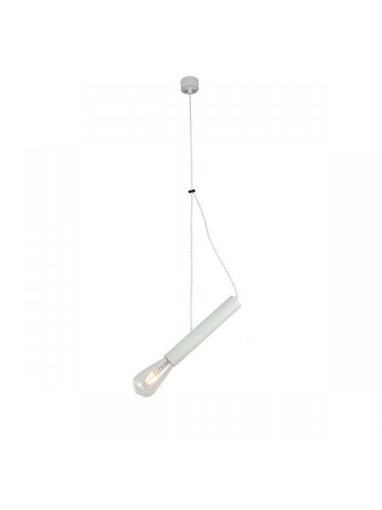 Pakabinamas šviestuvas 400mm E27 balta