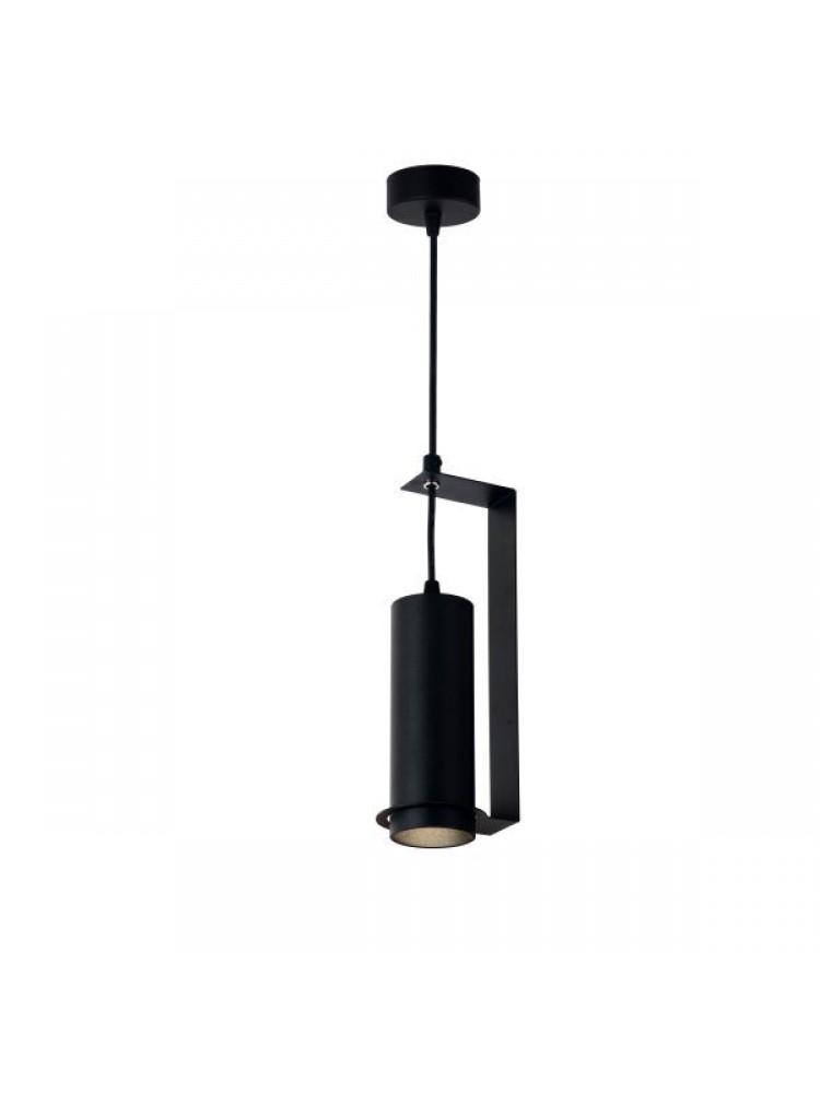 Cilindro formos šviestuvas 200mm GU10  juodas