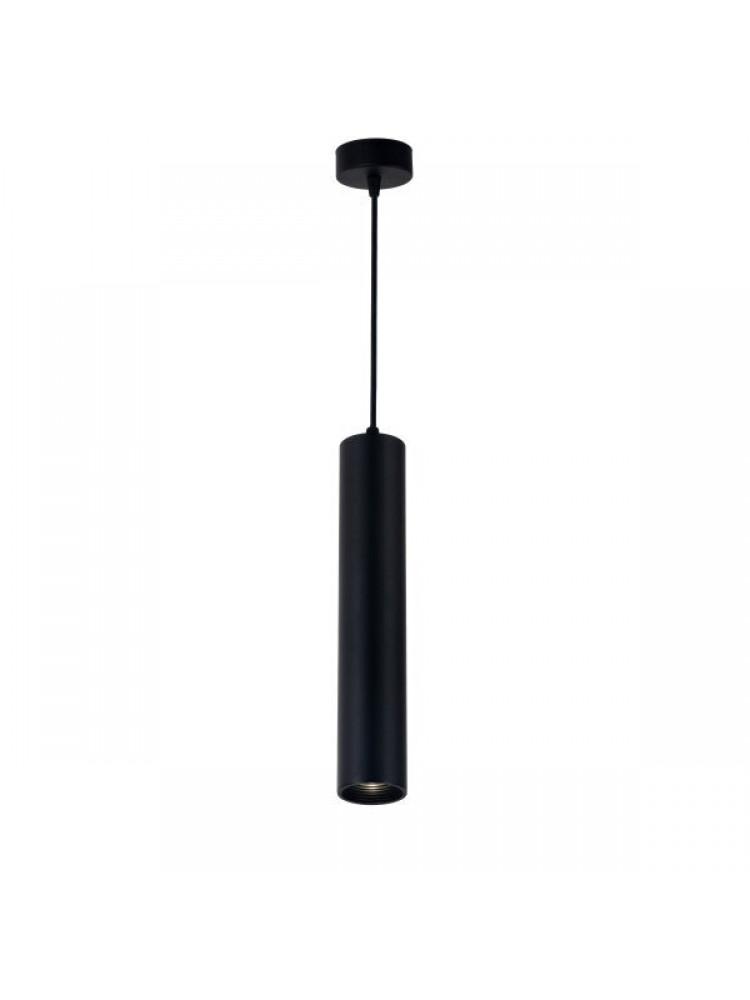 Cilindro formos šviestuvas 300mm GU10  juoda