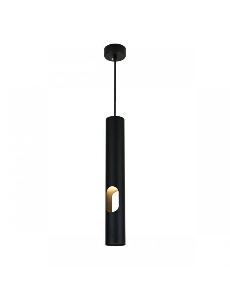 Cilindro formos šviestuvas 400mm GU10  juoda