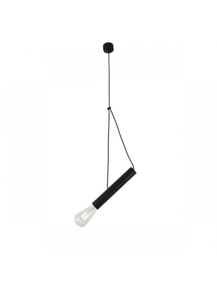 Pakabinamas šviestuvas 400mm E27  juoda