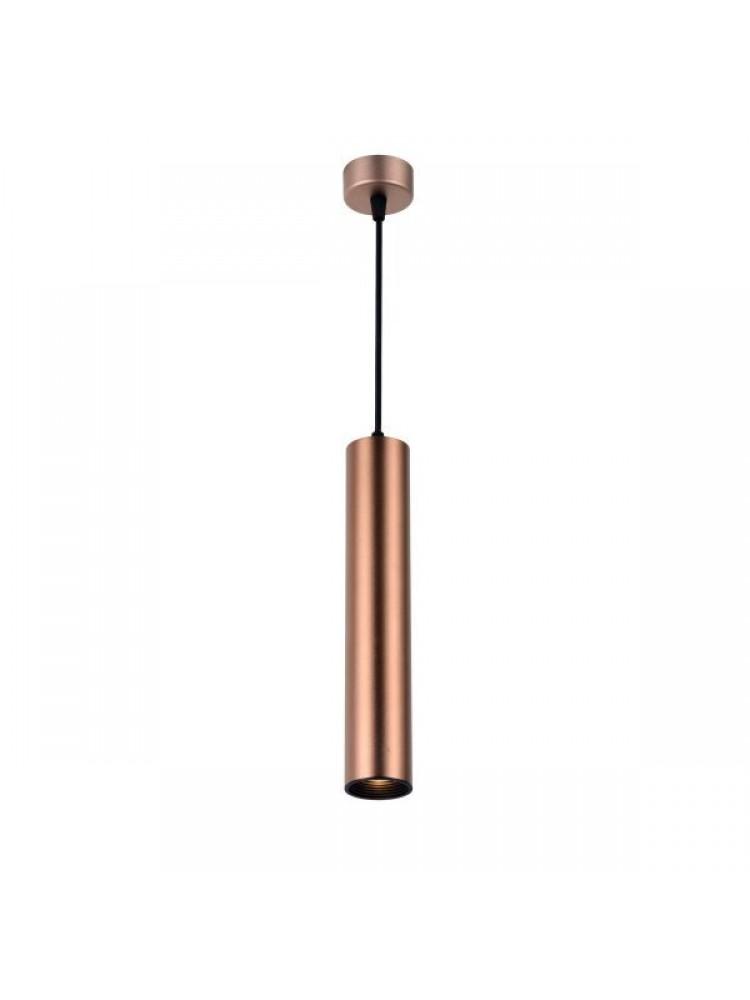 Cilindro formos šviestuvas 300mm GU10  kavos aukso spalvos