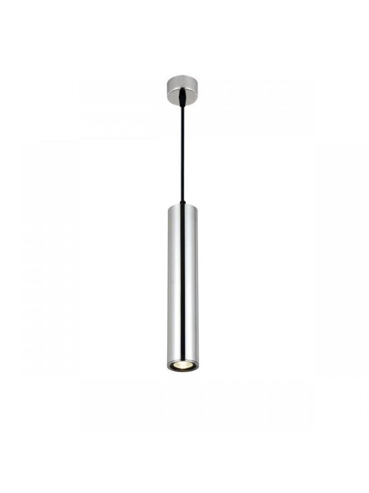 Cilindro formos šviestuvas 300mm GU10  sidabrinis chromas