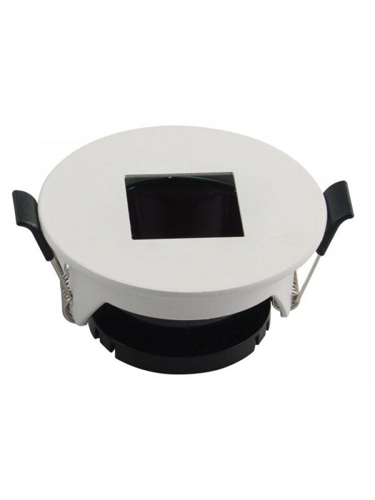Įleidžiamas paviršinis šviestuvas , apvalus, GU10, baltas 83x40,7mm