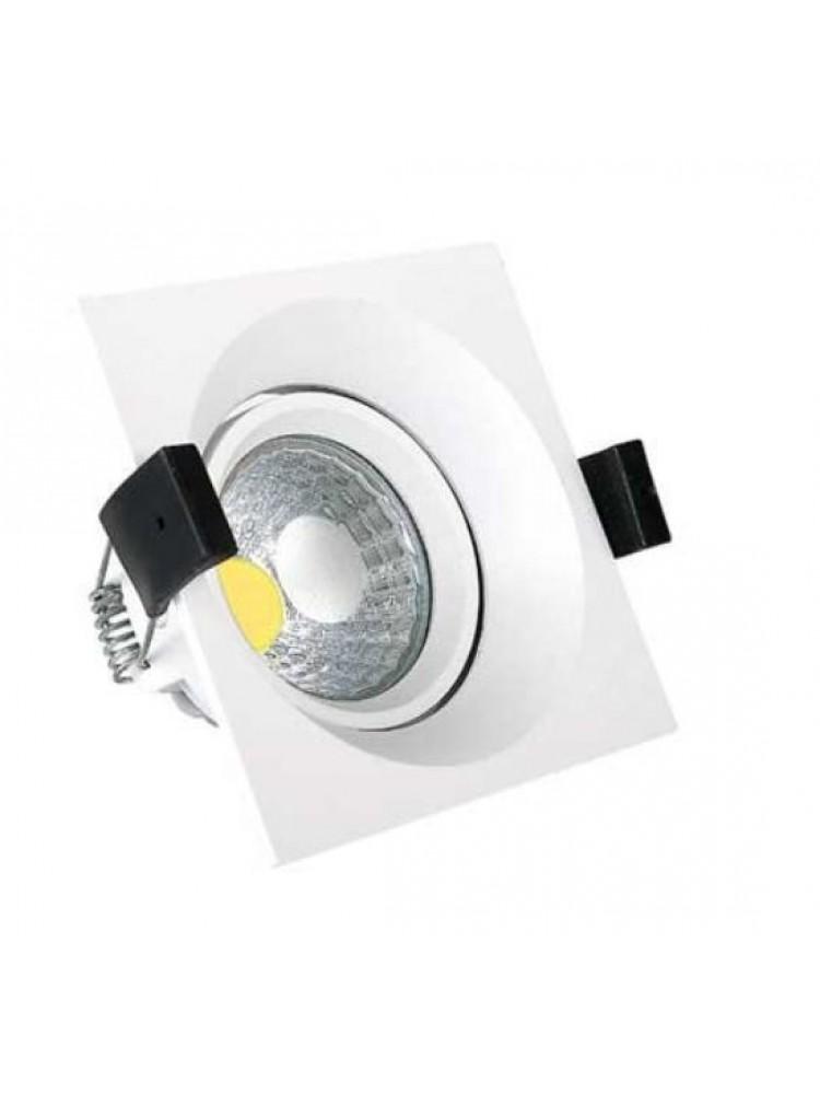 Įleidžiamas paviršinis šviestuvas , kvadratinis, 8W