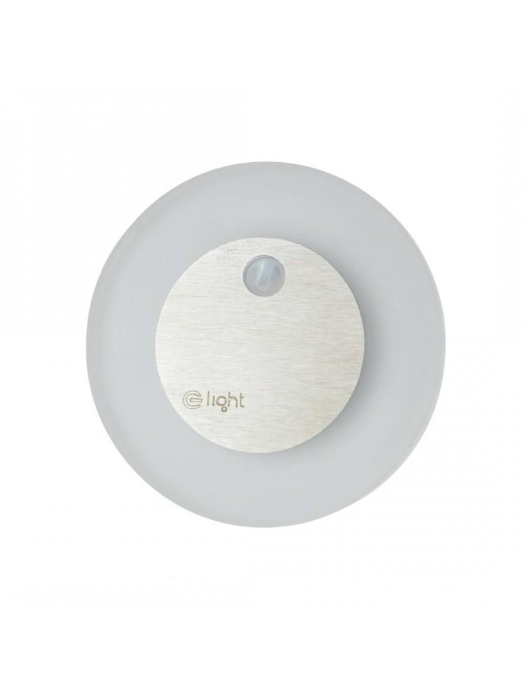Laiptų pakopų LED šviestuvas su judesio davikliu  OTI 0,6W 12V