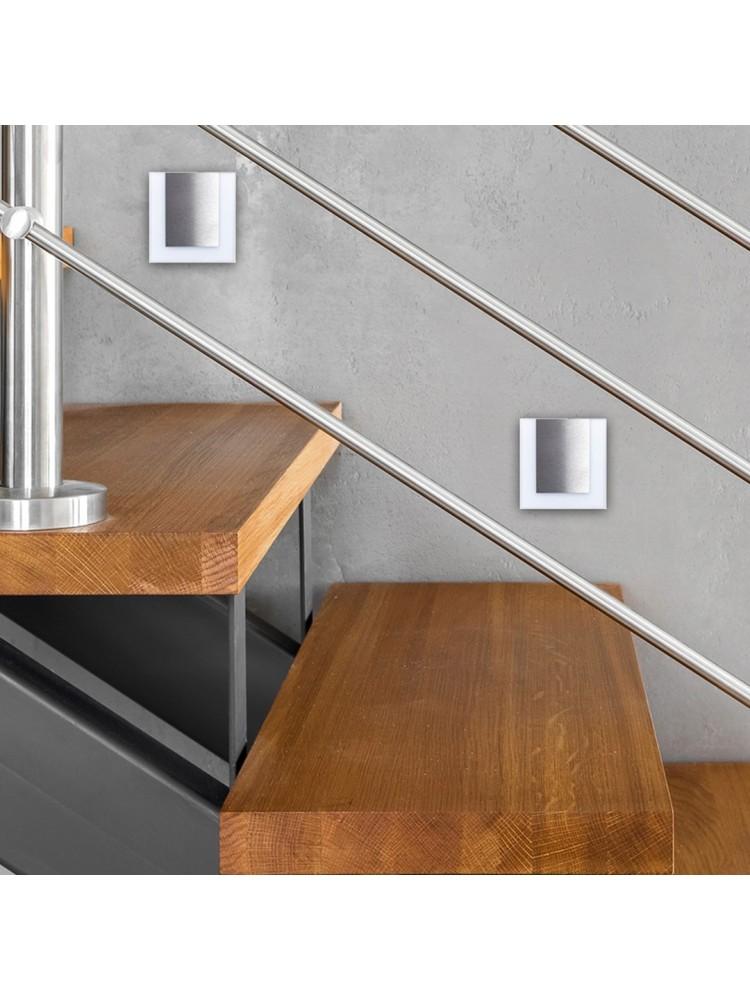 Laiptų pakopų LED šviestuvas  CAPRI 0,6W