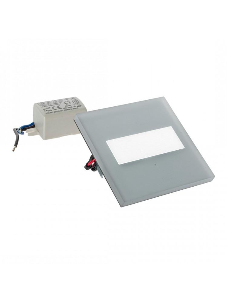 Laiptų pakopų LED šviestuvas  LUMI  BALTA 0,6W