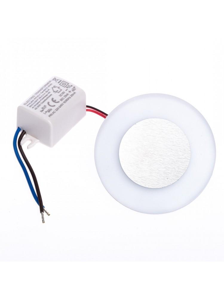Laiptų pakopų LED šviestuvas OTI 0,6W