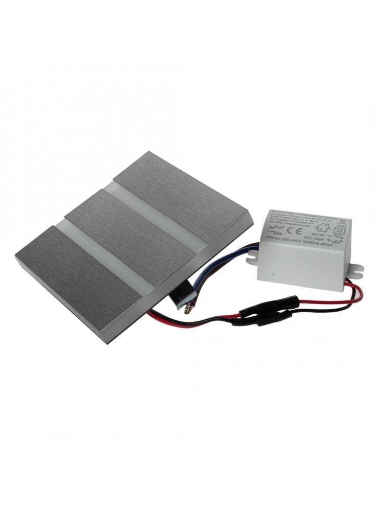 Laiptų pakopų LED šviestuvas  VOX 0,6W