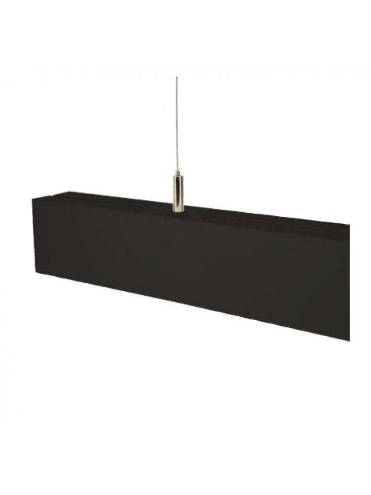 Linijinis šviestuvas ALD 150 40W 4500K juodas