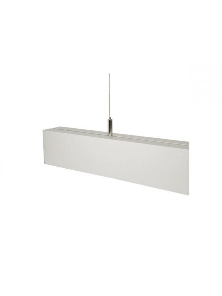 Linijinis šviestuvas ALD 150 40W 4500K sidabrinis