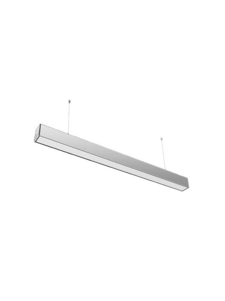 Linijinis šviestuvas ALD 120 30W 4500K sidabrinis