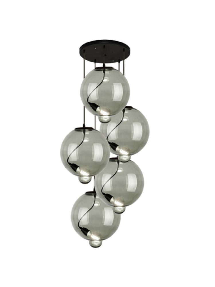 Pakabinamas šviestuvas modernus stiklo burbulas CO5