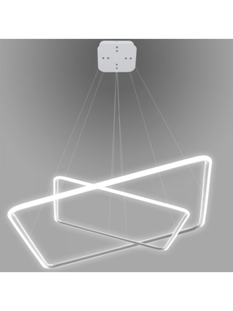 Pakabinamas šviestuvas Led Quadrat No. 2 4000K baltas