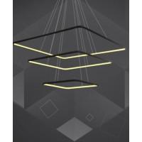 Pakabinamas šviestuvas LEDX3, 3000K ,juoda