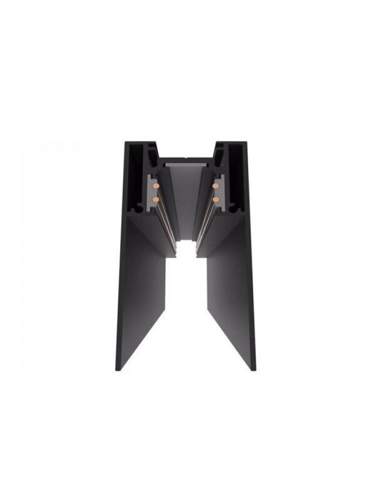 1,5m paviršinis magnetinės sistemos bėgelis , juodas