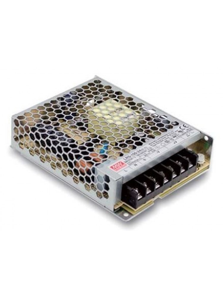 100W Impulsinis maitinimo šaltinis 48V 2.3A uždaras Mean Well LRS-100_48