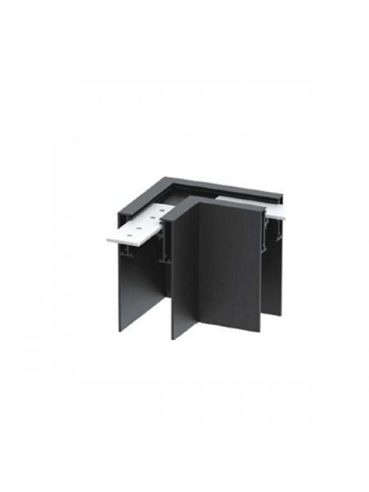 Paviršinis magnetinės sistemos kampinis sujungimas , juodas