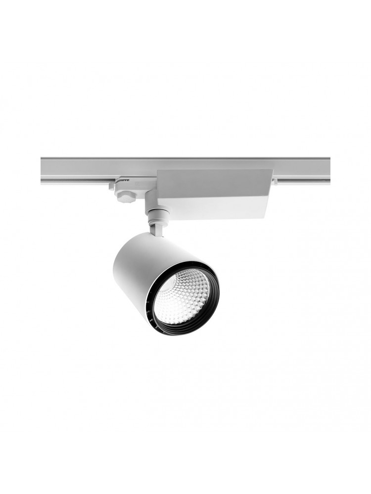 LED TRACK šviestuvasX-LINE 30Wbaltu korpusu , švietimo kampas 60°