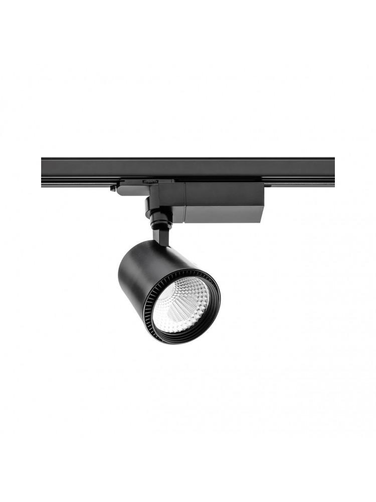 LED TRACK šviestuvasX-LINE 30Wjuodu korpusu , švietimo kampas 60°