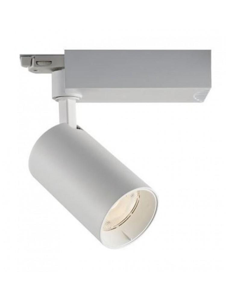 LED TRACK šviestuvas 25W  COB , baltu korpusu