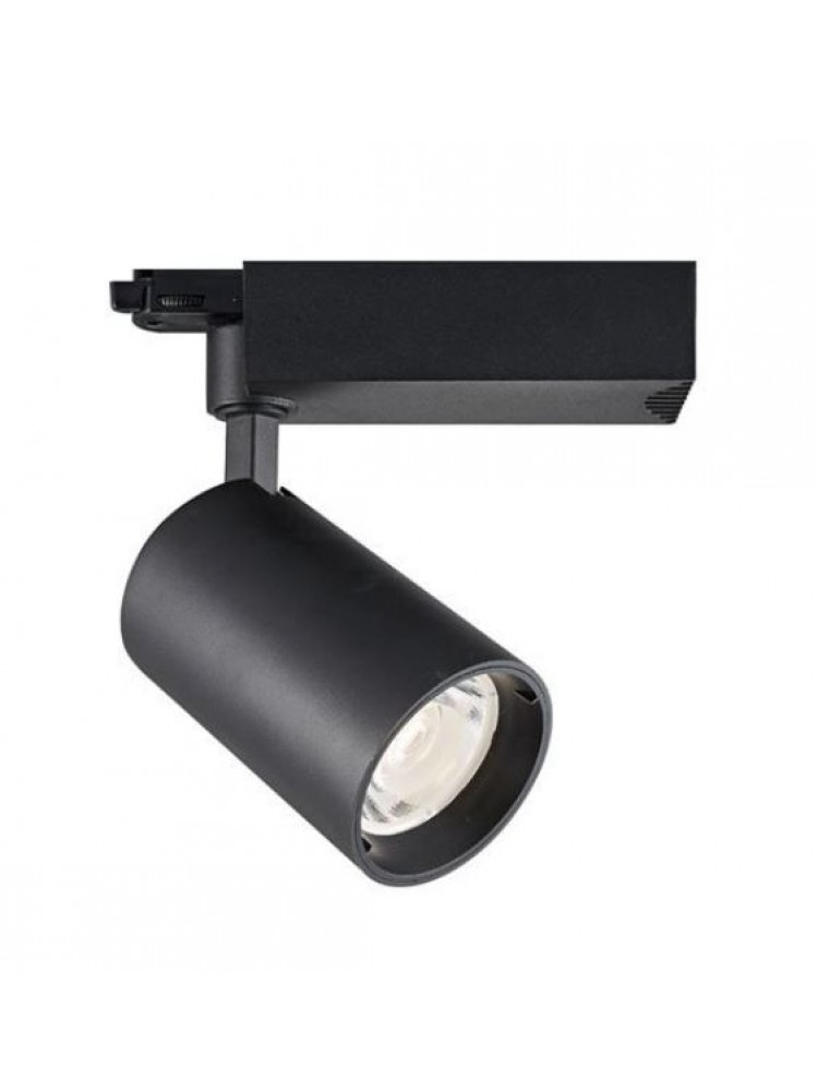 LED TRACK šviestuvas 25W  COB , juodu korpusu