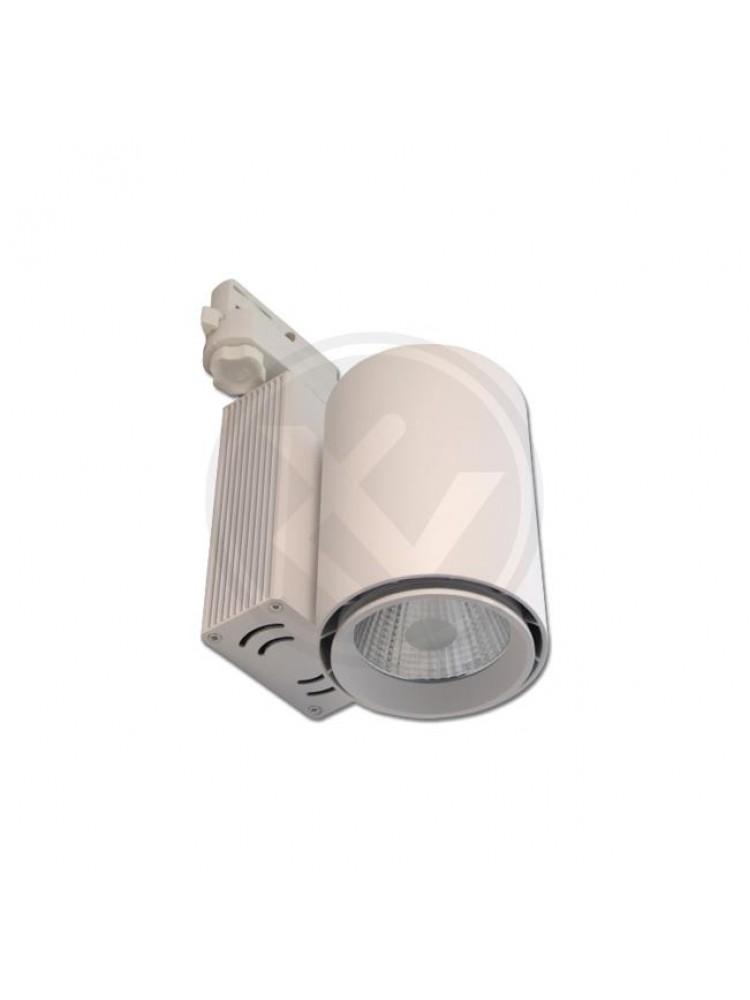 LED TRACK šviestuvasORO30Wbaltukorpusu