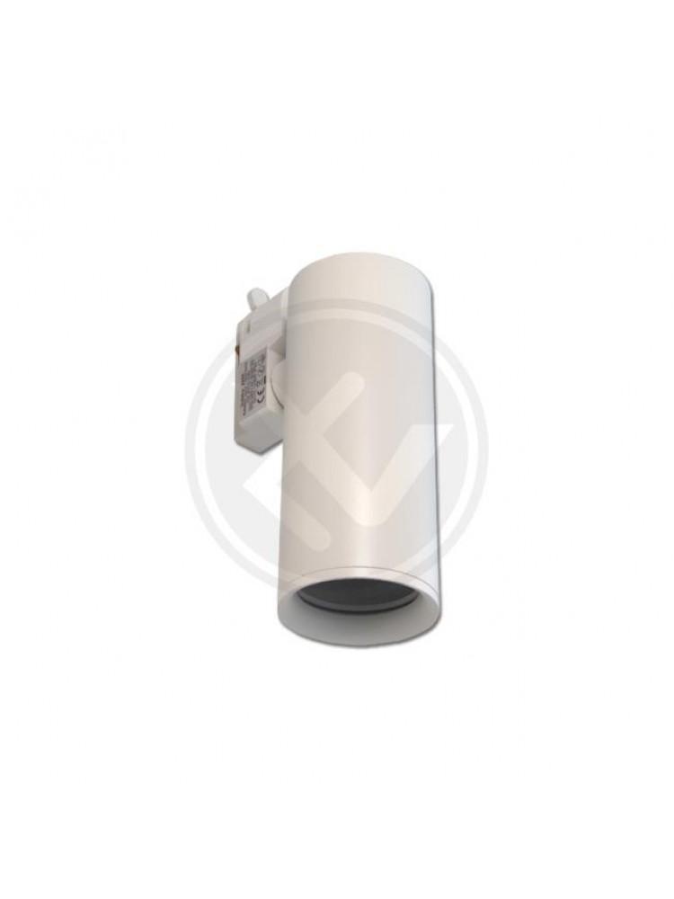 LED TRACK šviestuvas GU10~ 230 V / 50 Hz, baltukorpusu.