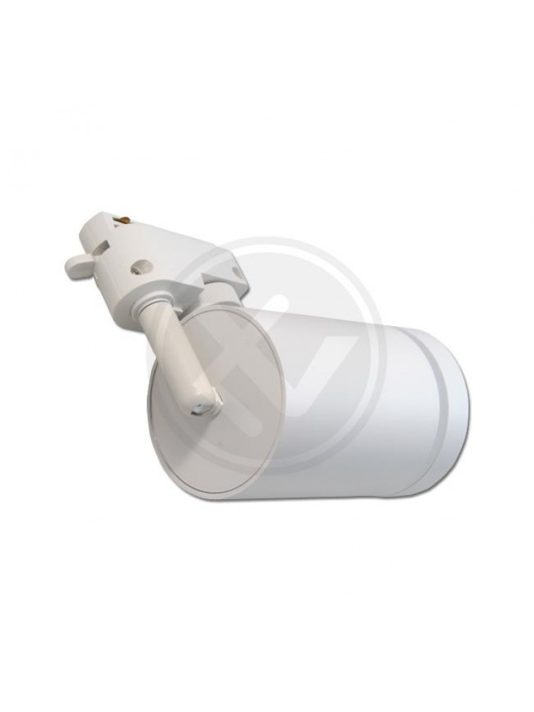 LED TRACK šviestuvas RING GU10~ 230 V / 50 Hz, baltukorpusu.