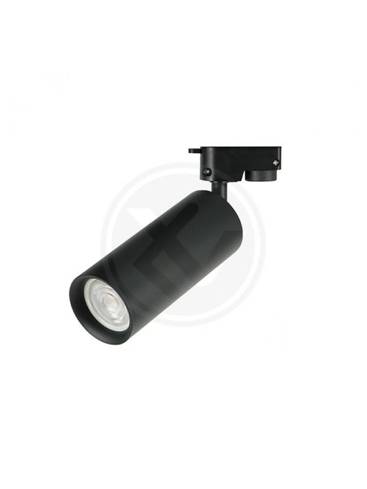 LED TRACK šviestuvas GU10~ 230 V / 50 Hz, juodukorpusu.
