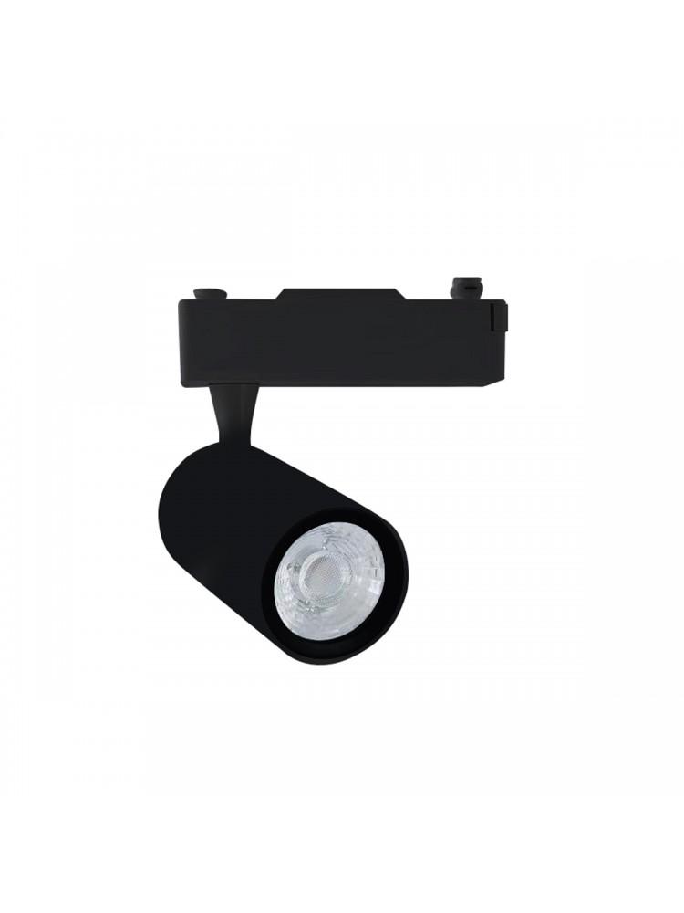 LED TRACK 1F šviestuvas 12W  COB , juodu korpusu