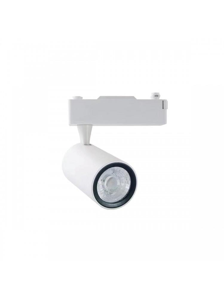 LED TRACK 1F šviestuvas 12W  COB , baltu korpusu
