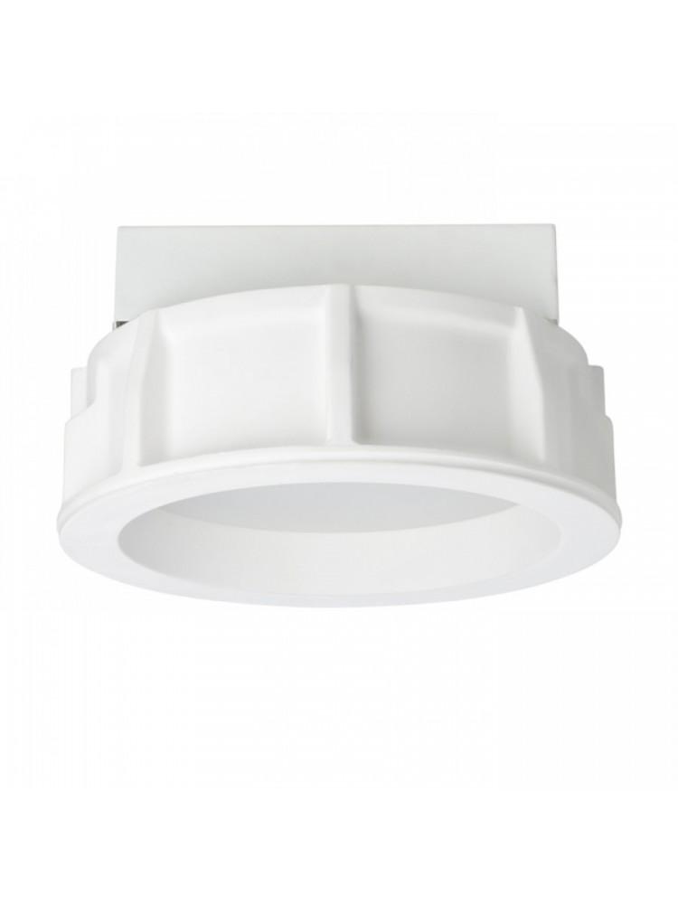 Įmontuojamas šviestuvas, užglaistomas, gipsinis + termoplastikas MIA R