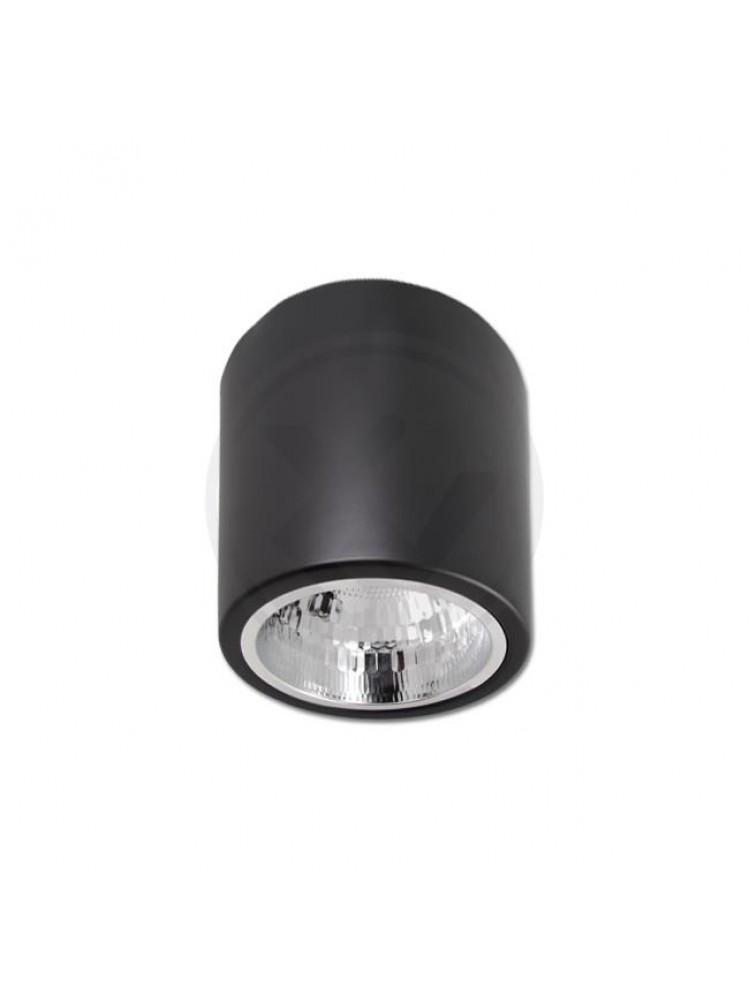 VIRŠTINKINIS LED ŠVIESTUVAS  E27 132x152mm - JUODAS