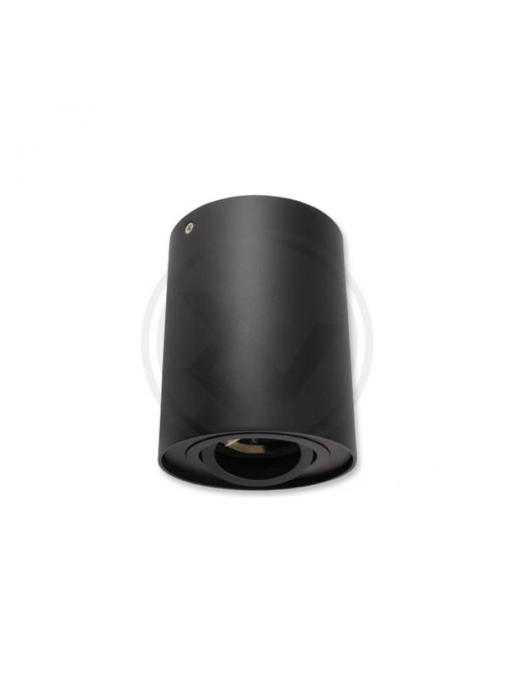 VIRŠTINKINIS LED ŠVIESTUVAS  GU10 96 x 125mm - JUODAS
