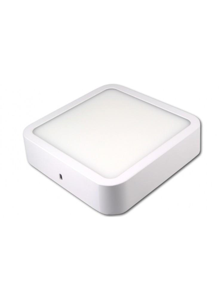 LED panelė 12W kvadratinė, balta