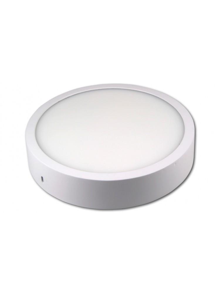 LED panelė 18W apvali, balta