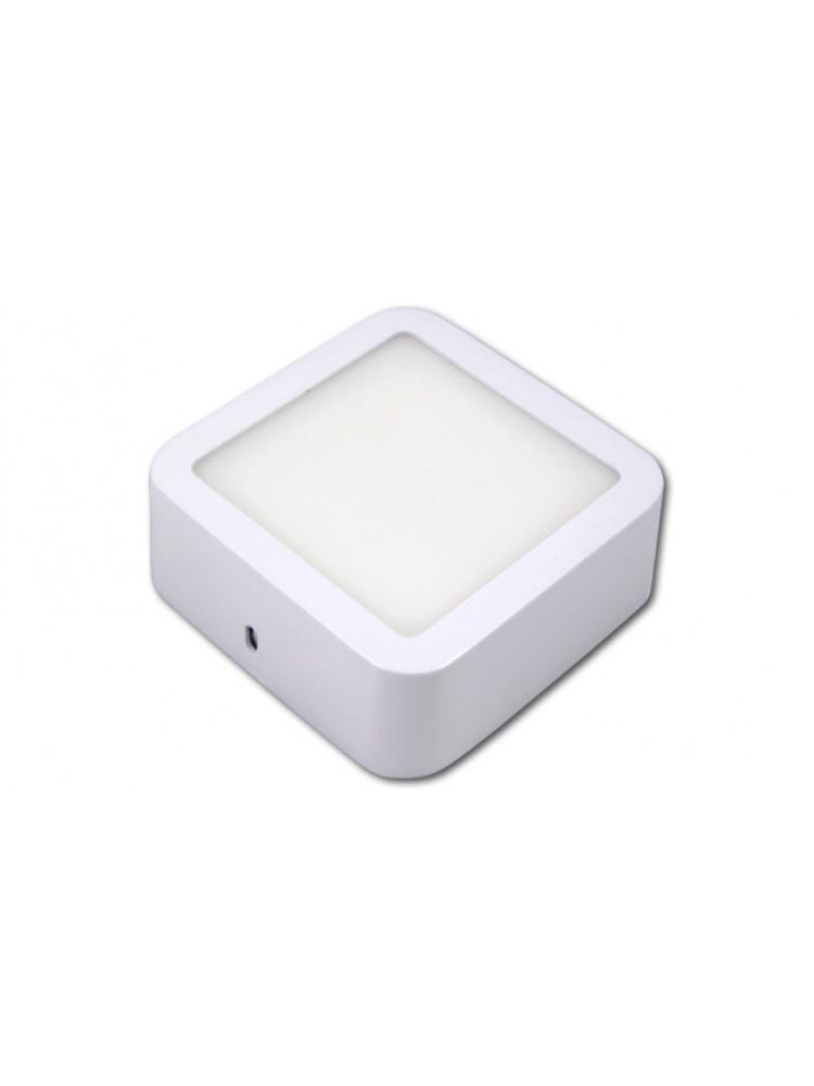 LED panelė 6W kvadratinė, balta